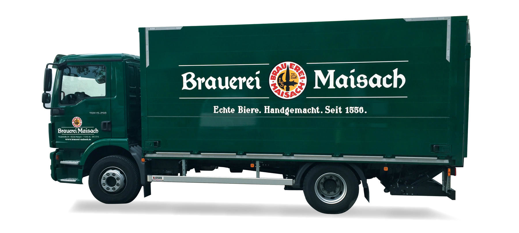 Brauerei Maisach, Corporate Design, LKW
