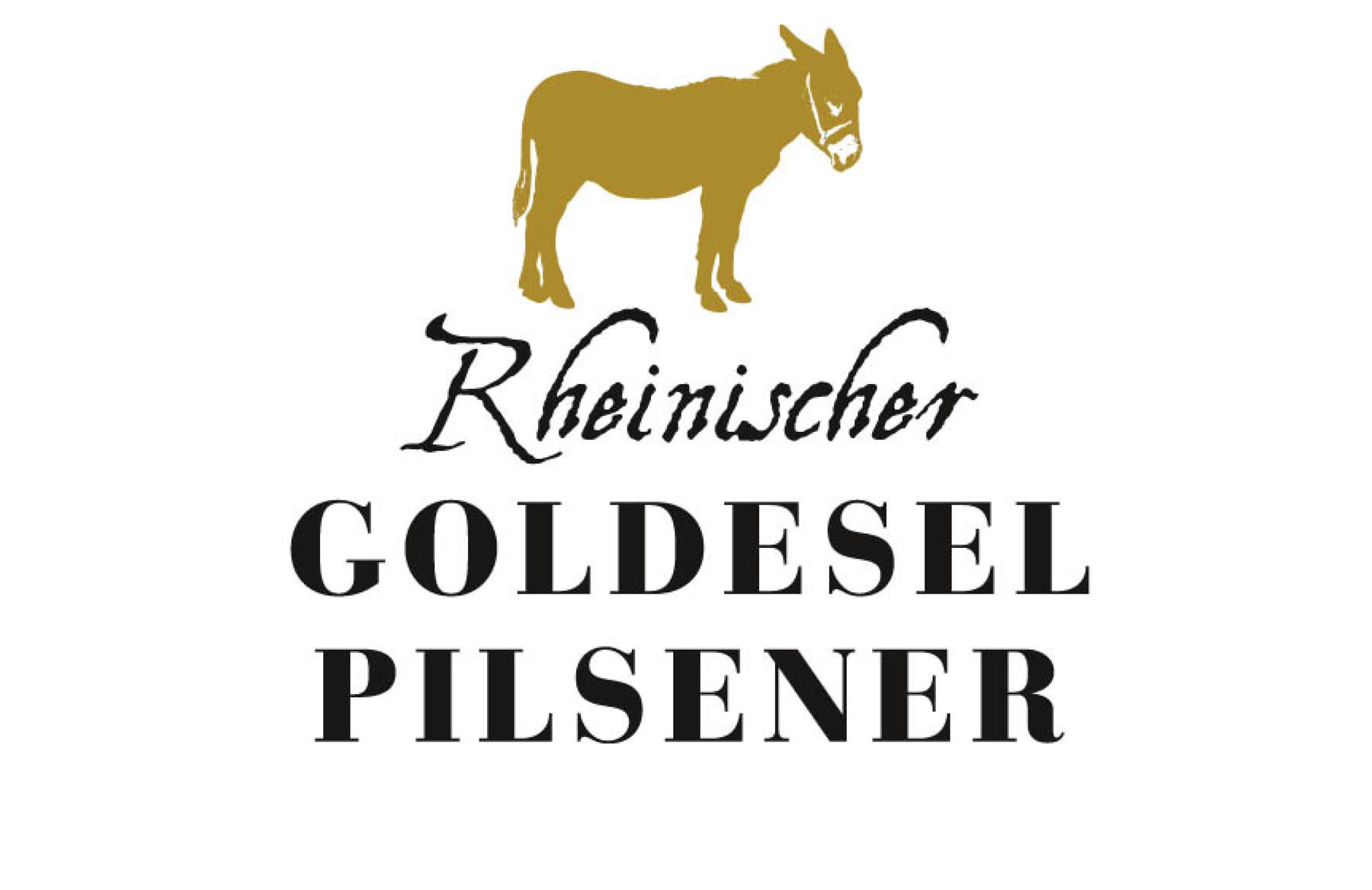 Goldesel Pilsener, Corporate Design, Packaging