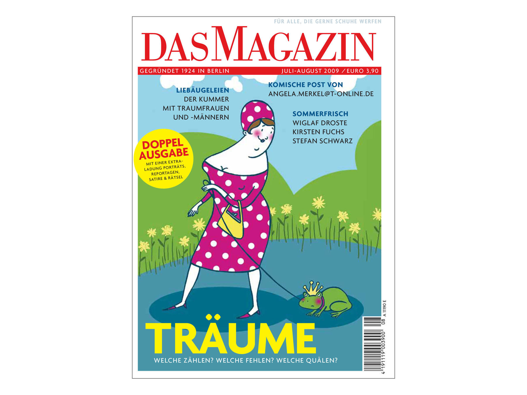 Das Magazin, Coverillustration Isabel Große Holtforth